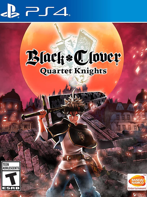 Black Clover: Quartet Knights  PlayStation 4