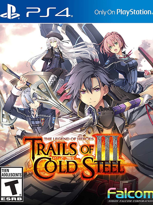 The Legend of Heroes Trails of Cold Steel III PlayStation 4