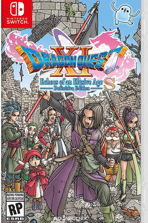 Dragon Quest XI S Echoes of an Elusive Age Definitive Edition N Switcth