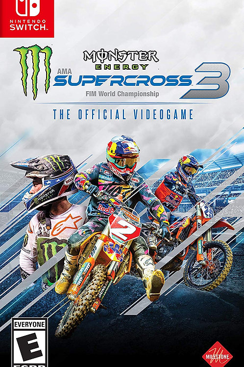 Monster Energy Supercross The Official Videogame 3 Nintendo Switch
