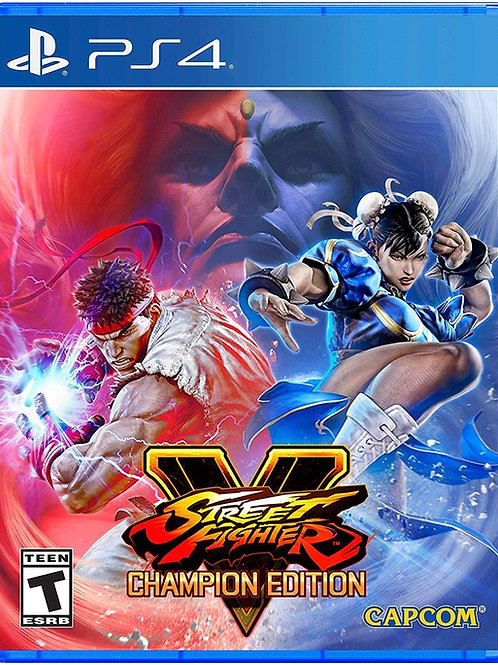 Street Fighter V Champion Edition PlayStation 4