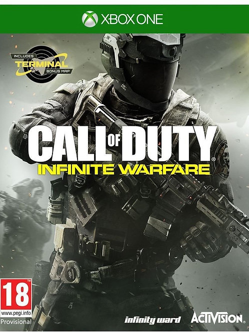 Call of Duty Infinite Warfare Xbox One + Mapa