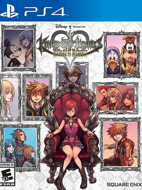 Kingdom Hearts Melody of Memory  PlayStation 4