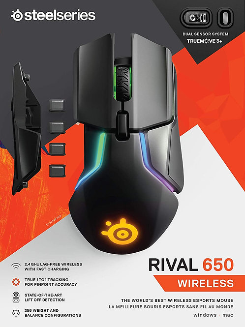 SteelSeries Rival 650 Mouse