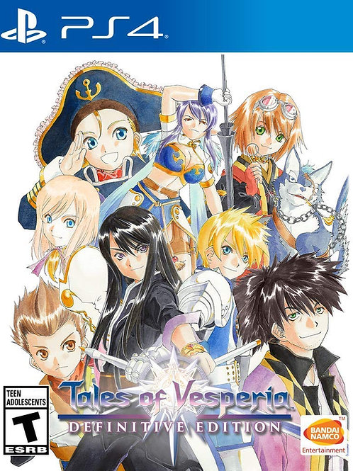 Tales of Vesperia Definitive Edition PlayStation 4