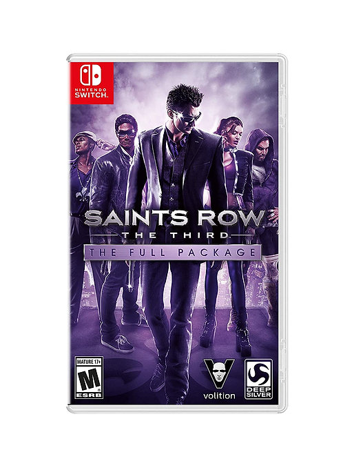 Saints Row The Third  Full Package  Nintendo Switch
