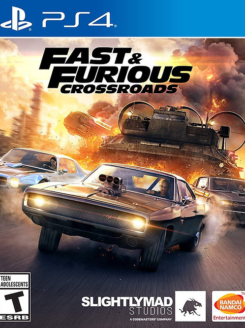 Fast & Furious Crossroads  Play Station 4