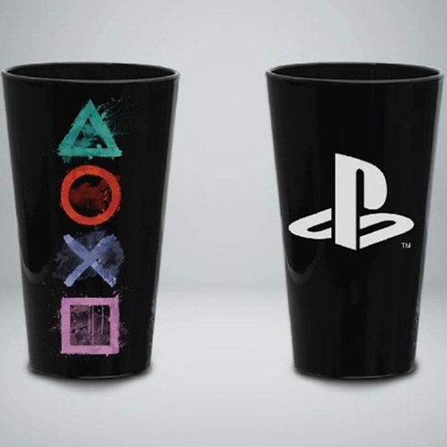 Vaso Vidrio Playstation