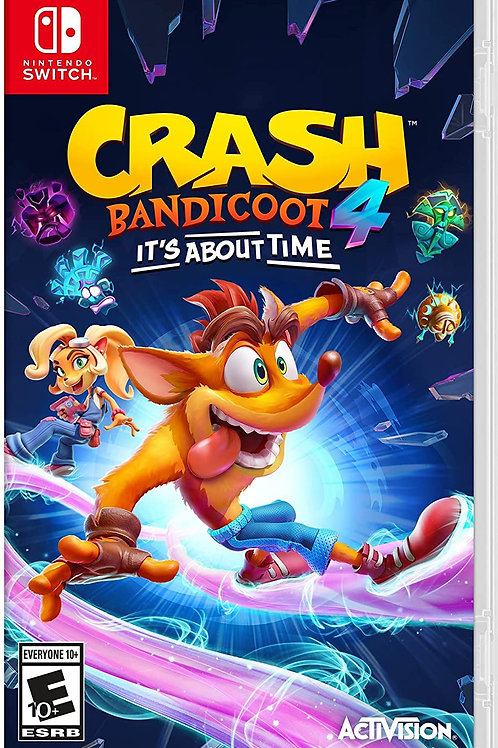 Crash 4: It's About Time  Nintendo Switch