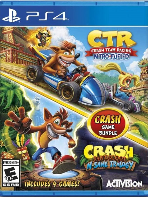 Crash 4 en 1 Crash Bandicoot + Crash Team Racing Playstation 4
