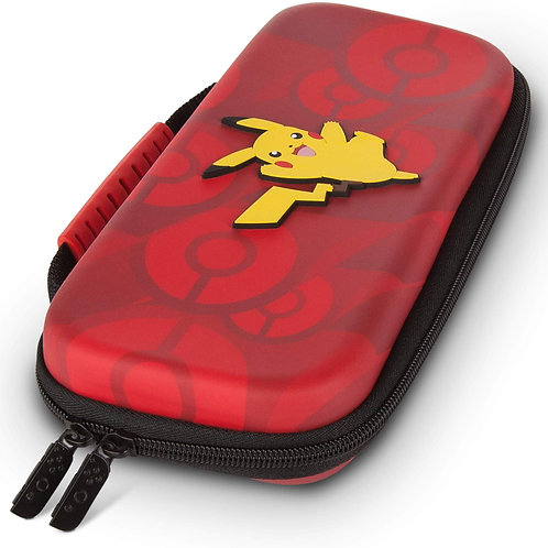 Estuche Protection Case Rojo Pikachu Nintendo Switch