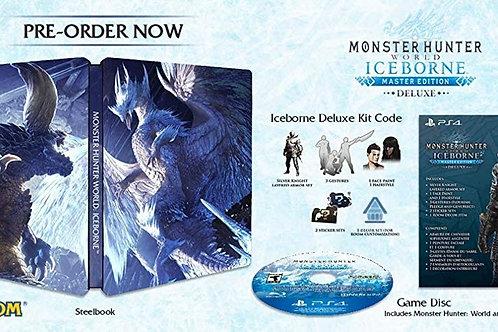 Monster Hunter World Iceborne Master Edition Deluxe PlayStation 4