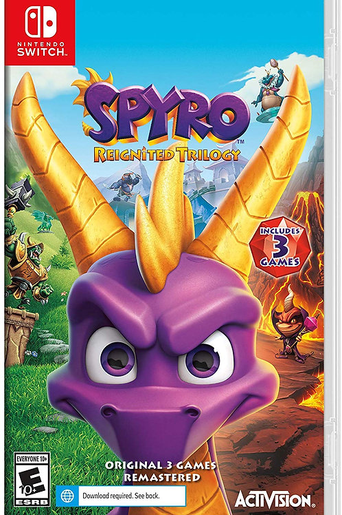 Spyro Reignited Trilogy Nintendo Switch