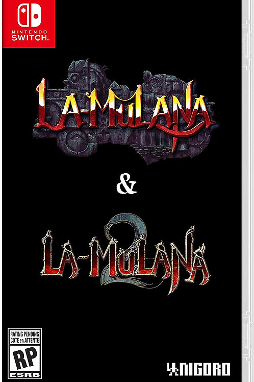 La Mulana 1 & 2 Hidden Treasures Edition Nintendo Switch