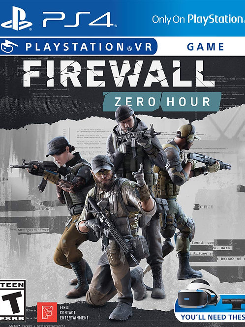 Firewall Zero Hour  PlayStation 4