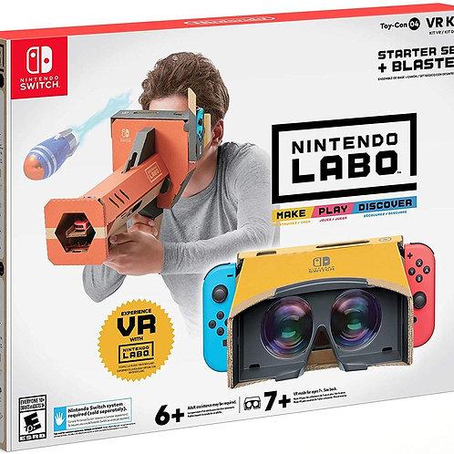 Nintendo Labo Toy-Con 04 VR Kit Starter Set + Blaster Switch
