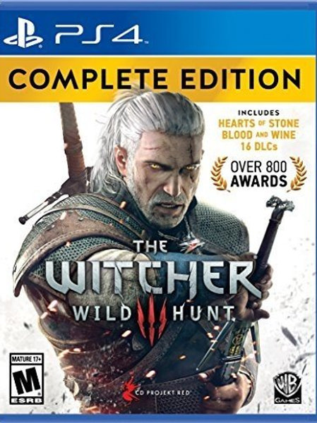 The Witcher 3 Wild Hunt Complete Edition PlayStation 4