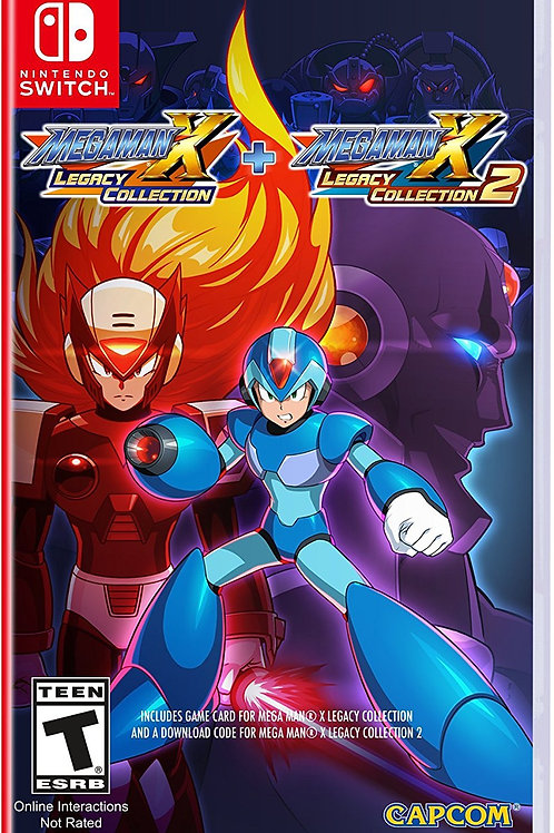 Megaman X Legacy Collection 1+2 Nintendo Switch