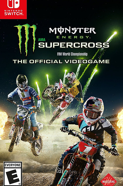 Monster Energy Supercross Nintendo Switch