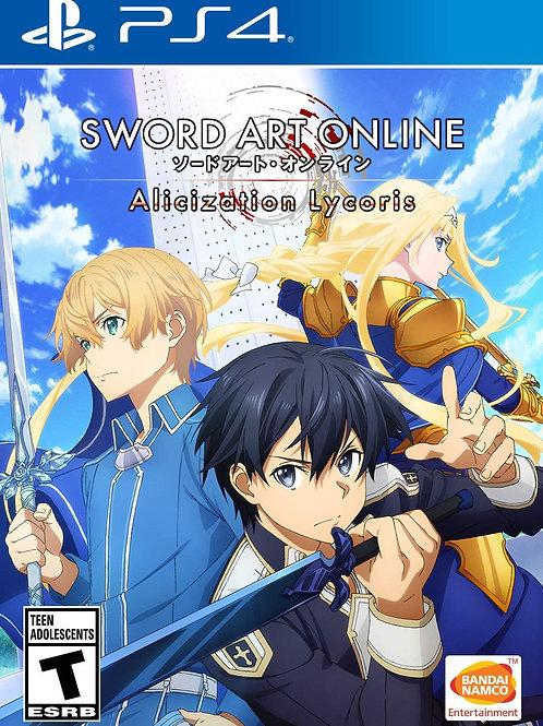 SWORD ART ONLINE: Alicization Lycoris  PlayStation 4