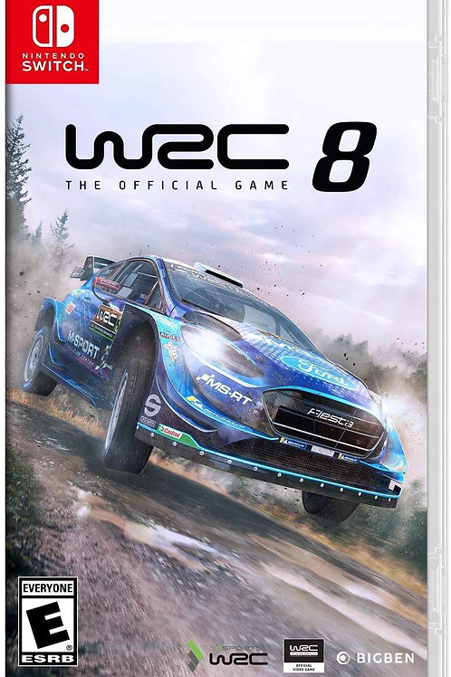 WRC 8: FIA World Rally Championship Nintendo Switch