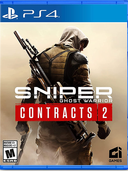 Sniper: Ghost Warrior  Contracts 2  PlayStation 4
