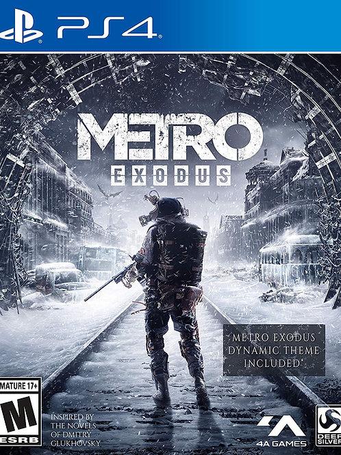 Metro Exodus PlayStation 4