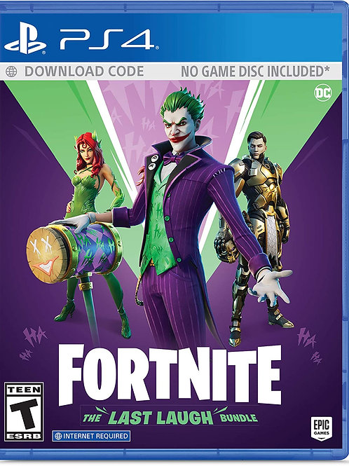 Fortnite: The Last Laugh Bundle  PlayStation 4