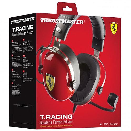 Headset T.Racing Escuderia Ferrari Edition PC, PS4, XOne, Switch Thrustmaster