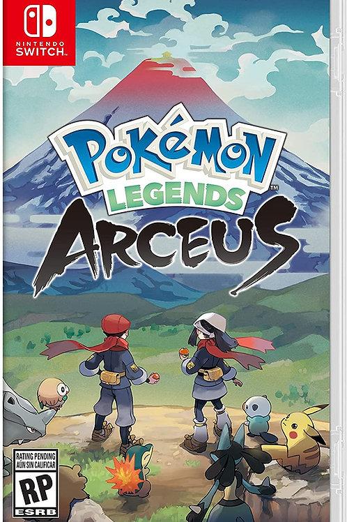 Pokemon Arceus  Nintendo Switch Pre Venta
