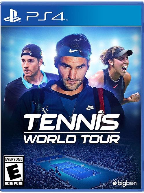 Tennis World Tour PlayStation 4