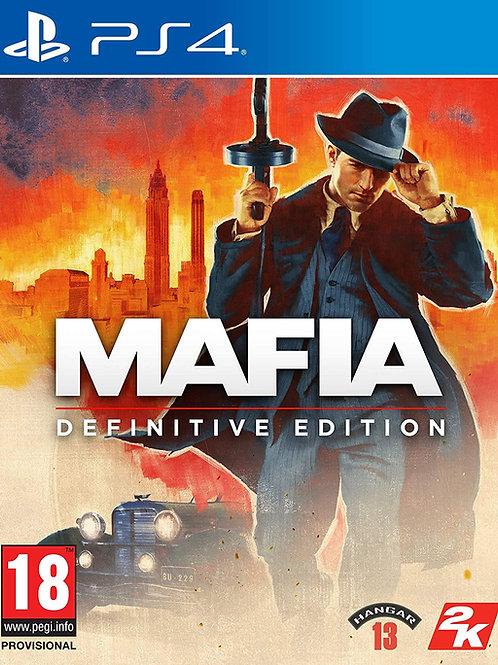 Mafia: Definitive Edition PlayStation 4