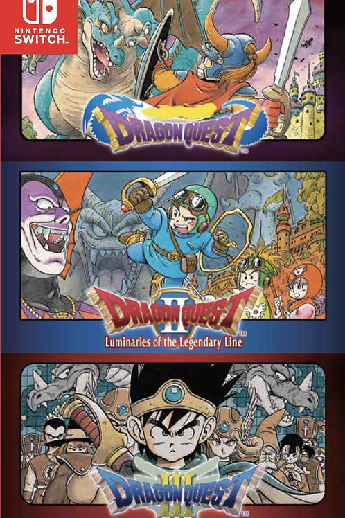 Dragon Quest Collection 3 En 1 Nintendo Switch Switch