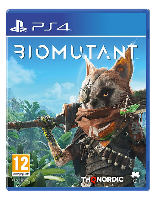 Biomutant PlayStation 4