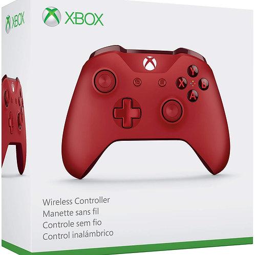 Control Xbox One S Inalambrico Rojo