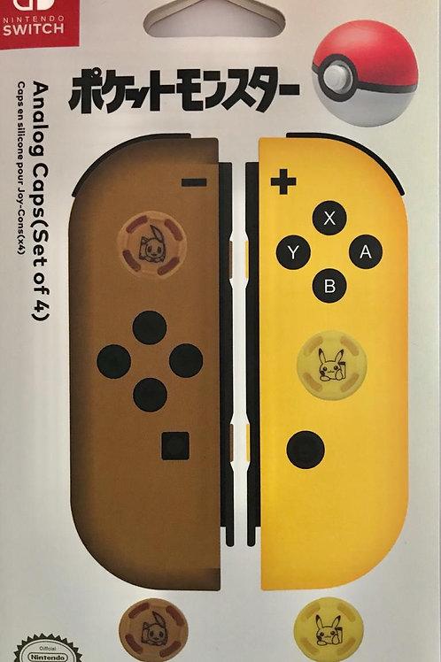 Pokemon Analog Caps Nintendo Switch
