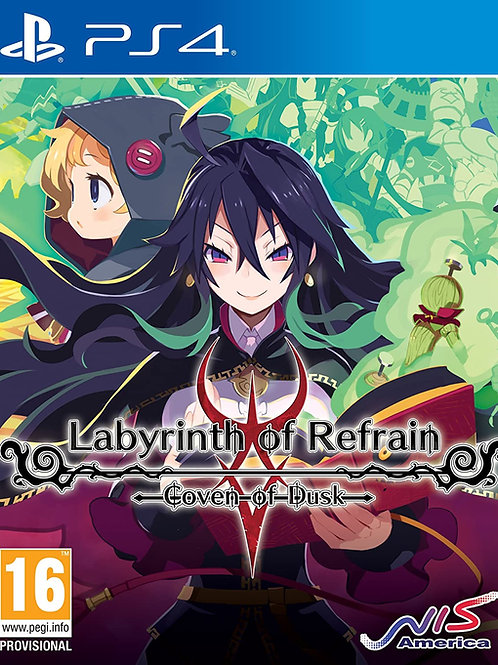 Labyrinth Of Refrain Coven Of Dusk Play Station 4