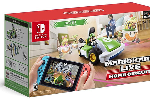 Mario Kart Live Home Circuit Luigi Set Nintendo Switch