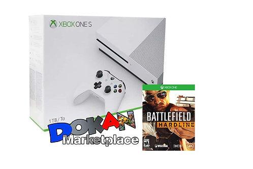 Xbox One S 1TB + Battlefield Hardline + 2 Juegos Deporte