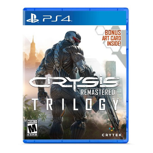 Crysis Remastered Trilogy  PlayStation 4