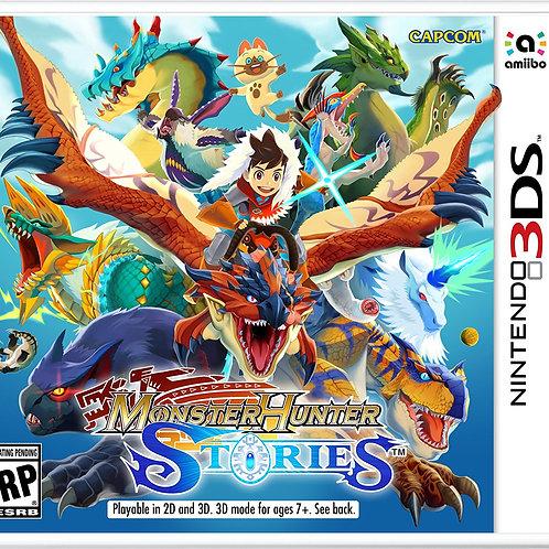 Monster Hunter Stories Nintendo 3DS