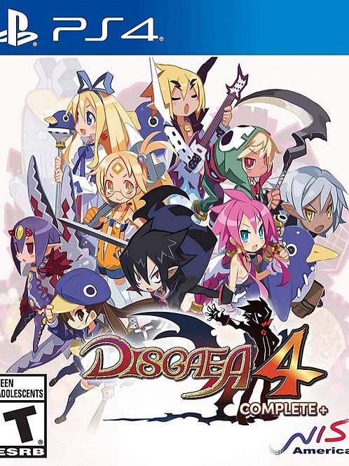 Disgaea 4 Complete+  PlayStation 4