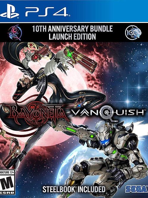 Bayonetta & Vanquish 10th Anniversary Bundle PlayStation 4