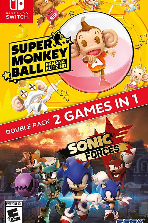 Sonic Forces + Super Monkey Ball: Banana Blitz HD Double Pack  Nintendo Switch