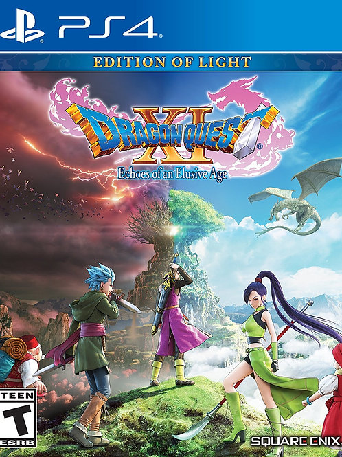 Dragon Quest XI Echoes of an Elusive Age Edition of Light PlayStation 4