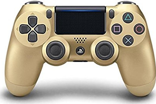 Control Dual Shock 4 New Gold PlayStation 4