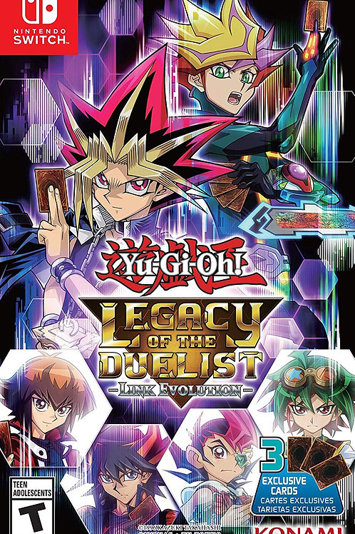Yu-Gi-Oh! Legacy of the Duelist Link Evolution Nintendo Switch