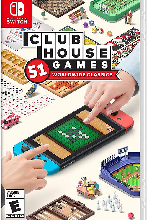 Clubhouse Games: 51 Worldwide Classics  Nintendo Switch