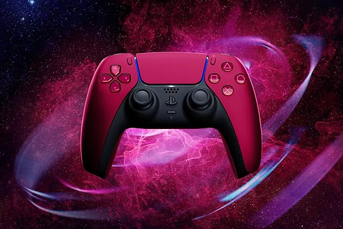 Control Cosmic Red Dualsense PlayStation 5