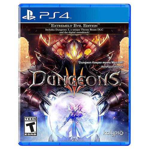 Dungeons 3  PlayStation 4